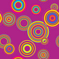 Seamless disco background Royalty Free Stock Image