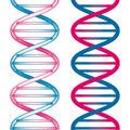 Seamless DNA Symbol Stock Images
