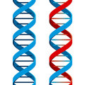 Seamless DNA Symbol Royalty Free Stock Photo