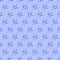 Seamless dot pattern on blue background. Royalty Free Stock Photo