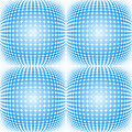Seamless dotted halftone pattern vector illustration of a Royalty Free Stock Image