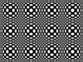 Seamless dotted pattern Royalty Free Stock Images