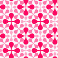 Seamless drops geometric pattern Royalty Free Stock Images