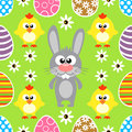 Seamless Easter  Background Wi...