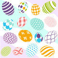 Seamless easter pattern and digital scrapbook Royalty Free Stock Photo