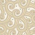 Seamless eastern style paisley Royalty Free Stock Photos