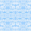 Seamless ellipses ornaments pastel blue