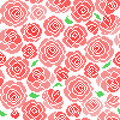 Seamless embroidered texture of abstract  flowers Royalty Free Stock Photo