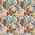 Seamless ethnic abstract pattern Royalty Free Stock Images