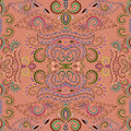 Seamless Ethnic  Pattern With ...