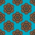 Seamless ethnic pattern national best for fabric Royalty Free Stock Photo