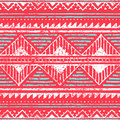 Seamless ethnic pattern. Ornament in tribal style. Grunge textur Royalty Free Stock Photo