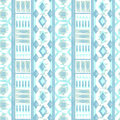 Seamless ethnic pattern texture turquoise, brown, red ,orange on bright background.