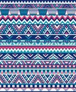 Seamless Ethnic pattern textures. Abstract Navajo geometric print. . Pink and Blue colors