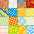 Seamless Fabric Texture Stock Images