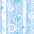 Seamless fantastic christmas pattern Royalty Free Stock Photo