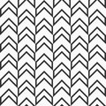 Seamless fashion arrows patterns.