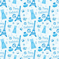 Seamless fashion pattern Royalty Free Stock Photography