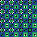 Seamless Floor Tiles Pattern Stock Photo