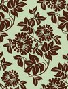 Seamless floral background. Stock Photography