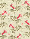 Seamless floral background. Royalty Free Stock Image