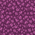 Seamless floral background pattern, vector