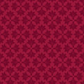 Seamless floral background red Royalty Free Stock Images