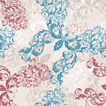 Seamless floral butterfly background Royalty Free Stock Photo