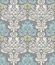 Seamless floral colorful pattern damask Stock Images