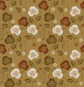 Seamless floral flower pattern