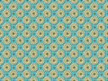 stock image of  Seamless floral geometric pattern