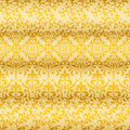 Seamless floral golden borders can be used separately Stock Images