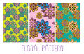 Seamless floral orient pattern