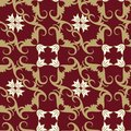 Seamless floral ornament pattern Royalty Free Stock Image