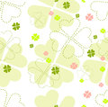 Seamless floral patter Royalty Free Stock Image