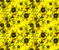Seamless floral pattern,  Stock Images