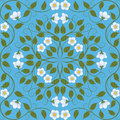 Seamless floral pattern abstract vector illustration Stock Image