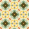 Seamless floral pattern background Stock Photo