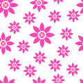 Seamless floral pattern bright spring summer flowers