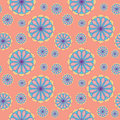 Seamless Floral Pattern. Abstract Background Royalty Free Stock Photo