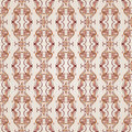 Seamless floral pattern with florid elements brown and rose pink shades Royalty Free Stock Photo
