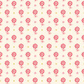 Seamless floral pattern. Flowers texture for kids. Stock Photo