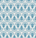 Seamless floral pattern with geometric stylized flowers can be used to fabric design wallpaper decorative paper web design etc Royalty Free Stock Images