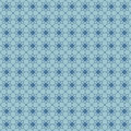 Seamless floral pattern with geometric stylized flowers can be used to fabric design wallpaper decorative paper web design etc Stock Photo