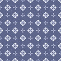 Seamless floral pattern with geometric stylized flowers can be used to fabric design wallpaper decorative paper web design etc Royalty Free Stock Photos