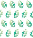 Seamless floral pattern with green leaves Royalty Free Stock Photo