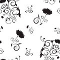 Seamless floral  pattern III Royalty Free Stock Photo