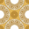 Seamless floral pattern. Oriental ornament. Element for design. Royalty Free Stock Photo