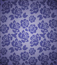 Seamless floral pattern repetitive fill for illustrator Stock Image