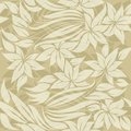 Seamless floral pattern with sand colored flowers Royalty Free Stock Photo